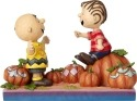 Peanuts by Jim Shore 6000980 Charlie Brown and Linus