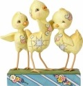 Jim Shore 6001077 Trio of Chicks