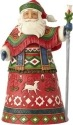 Jim Shore 6001463 Lapland Santa Figurine