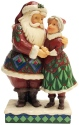 Jim Shore 6001465 Cutest Christmas Couple Santa & Mrs. Claus Figurine