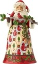 Jim Shore 6001468 Santa Cardinal Figurine