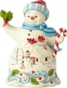 Jim Shore 6001492 Snowman Broom Figurine