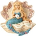Jim Shore 6001527 Coastal Mermaid Figurine