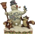 Jim Shore Frosty 6001583 Frosty and Woodland