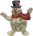 Jim Shore Frosty 6001585 Jolly Frosty