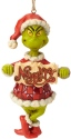 Jim Shore Dr Seuss 6002073 Naughty Nice Grinch Ornament