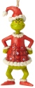 Jim Shore Dr Seuss 6002074 Grinch as Santa