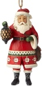Jim Shore 6002737 Santa Holding Lantern Ornament