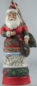 Jim Shore 6002738 Santa Satchel Ornament