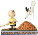 Jim Shore Peanuts 6002773N Charlie Brown and Snoopy