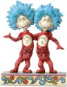 Jim Shore Dr Seuss 6002908 Thing 1 and Thing 2