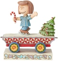 Peanuts by Jim Shore 6003027 Peppermint Patty Train