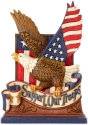 Jim Shore 6003975 Support Our Troops Figurine