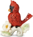 Jim Shore 6003980 Cardinal Mini Figurine