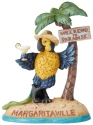 Jim Shore Margaritaville 6004009 Parrot Under Palm Tree
