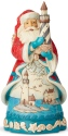 Jim Shore 6004023 Coastal Santa Lighthouse Figurine