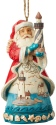 Jim Shore 6004033 Coastal Santa Ornament