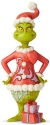 Jim Shore Grinch 6004065 Grinch With Big Heart Figurine