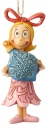 Jim Shore Grinch 6004068 Cindy Holding Ball Ornament
