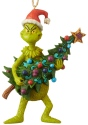 Jim Shore Grinch 6004069 Grinch and Tree Ornament