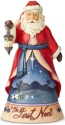 Jim Shore 6004130 First Noel Santa Figurine