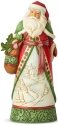 Jim Shore 6004134 Santa Winter Scene Figurine