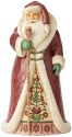 Jim Shore 6004135 Regal Santa Cane Figurine