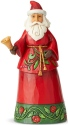 Jim Shore 6004138 Santa Bell Figurine
