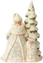 Jim Shore 6004168 Woodland Santa & Tree Figurine