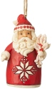 Jim Shore 6004231 Nordic Noel Santa Ornament