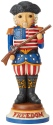 Jim Shore 6004242 American Nutcracker Figurine