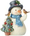 Jim Shore 6004289 Snowman Pint Size Figurine