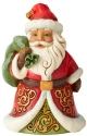 Jim Shore 6004291 Santa Bag Pint Size Figurine
