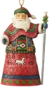 Jim Shore 6004301 Lapland Santa Staff Ornament