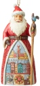 Jim Shore 6004307 Portuguese Santa Ornament