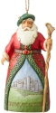 Jim Shore 6004309 Irish Santa Ornament