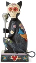 Jim Shore 6004327N Day of The Dead Cat Figurine