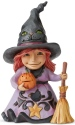 Jim Shore 6004331N Witch Pint Size Figurine