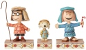 Peanuts by Jim Shore 6004974 Christmas Pageant Set 3