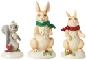 Jim Shore 6004989 Wonderland Set of 3 Christmas Figurine
