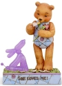 Jim Shore Button and Squeaky 6005125 Button In Love Figurine