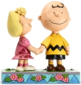 Peanuts by Jim Shore 6005949 Charlie Brown and Sally Figurine