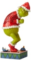 Jim Shore Grinch 6006566 Sneaky Grinch with Grin Figurine