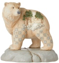 Jim Shore 6006582 Woodland Bear Figurine
