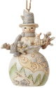 Jim Shore 6006587 Woodland Snowman Ornament