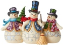 Jim Shore 6006647 Three Snowmen Figurine