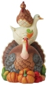 Jim Shore 6006695N Stacked Turducken Figurine
