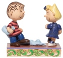 Peanuts by Jim Shore 6006935 Linus and Sally Dancing Figurine