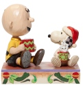 Peanuts by Jim Shore 6006937 Charlie Brown and Snoopy Figurine