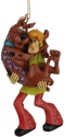 Jim Shore Scooby Doo 6007255 Shaggy Holding Scooby Ornament